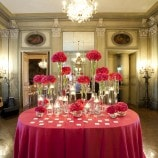 Pink Place Card Table at Meridian House