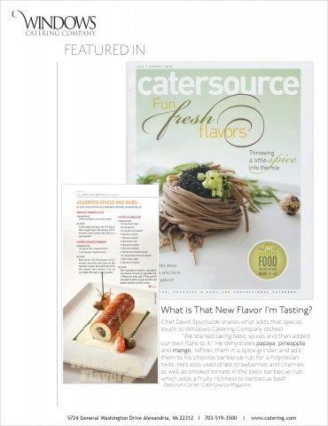 Catersource July Issue Spices.indd