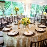 Round and Rectangle Table Settings