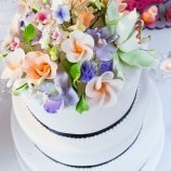 Wedding cake from Engaged