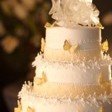 Butterfly full wedding cake