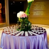 womens museum escort card table