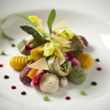 Potato Gnocchi with Spring Vegetable Ragout