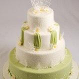 Daisy wedding cake photoshoot