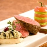 Filet of Beef with Porcini Mushroom and Tomato Clamart