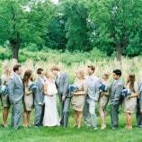 Wedding Party at River Farm