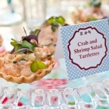Crab and Shrimp Salad Tartlets