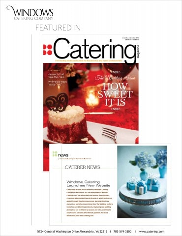 Catering Magazine Feature 2012