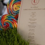 lollipop table decor
