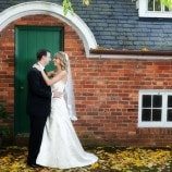 Bride and Groom at American Horticultural Society