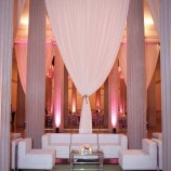 Lounge Setting at Corcoran Gallery of Art Wedding