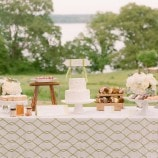 Sweet Dessert Table at River Farm