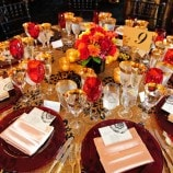 Red and Gold Table