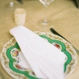 Green Dinner Plate