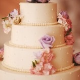 Buttercream 4-tier cake with floral